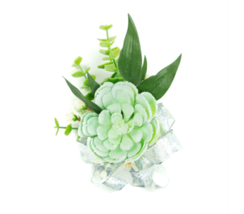 Succulent Corsage in Little Rock AR, Tipton & Hurst, Inc.