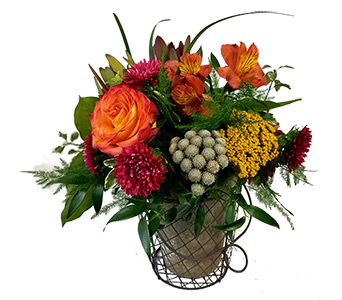 Tuscan Garden Bouquet in Fort Worth TX, Mount Olivet Flower Shop