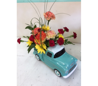 55 Chevy in Fredericton NB, Trites Flower Shop