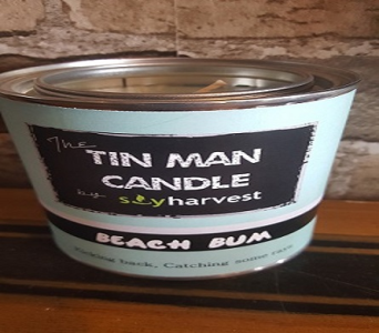 Tin Man Candle-- Beach Bum in Richmond Hill ON, FlowerSmart