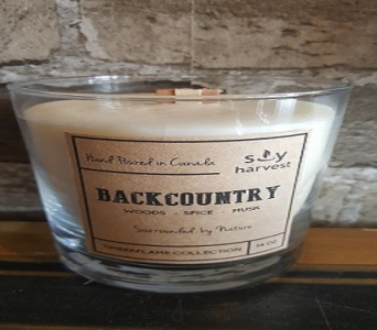 Timberflame Candle-- Backcountry in Richmond Hill ON, FlowerSmart