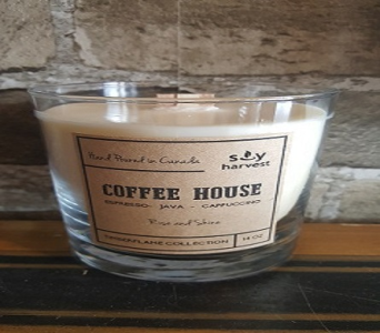 Timberflame Candle-- Coffee House in Richmond Hill ON, FlowerSmart