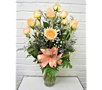 Make You Blush Roses in Springfield MO, House of Flowers Inc.