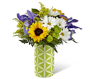 Sunflower Sweetness Bouquet in Campbellford ON, Caroline's Organics & Floral Design