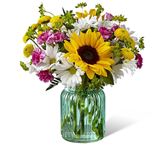 Sunlit Meadows Bouquet in Campbellford ON, Caroline's Organics & Floral Design