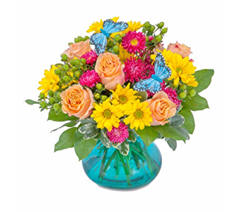 Keifer - Keifer Vibrant Wings in Sapulpa OK, Neal & Jean's Flowers & Gifts, Inc.