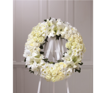 The FTD Wreath of Remembrance in Southfield MI, Thrifty Florist