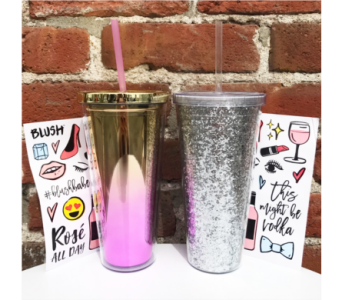 BLUSH tumblers in Yakima WA, Kameo Flower Shop, Inc