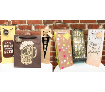Beverage Bags in Yakima WA, Kameo Flower Shop, Inc