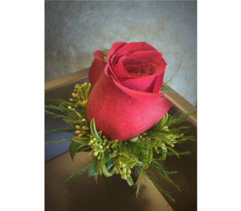 Red Rose Boutonniere in Wellington FL, Wellington Florist