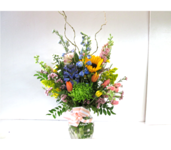 Appreciation Vase in Worcester MA, Holmes Shusas Florists, Inc