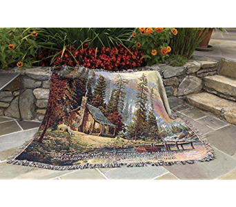 A Peaceful Retreat Throw in Kalispell MT, Flowers By Hansen, Inc.