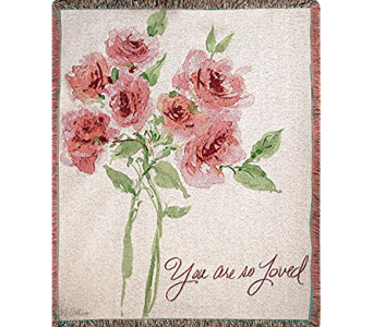 You Are Loved Throw in Kalispell MT, Flowers By Hansen, Inc.
