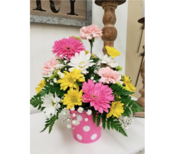 Polka Dot Fun in Alexandria MN, Anderson Florist & Greenhouse