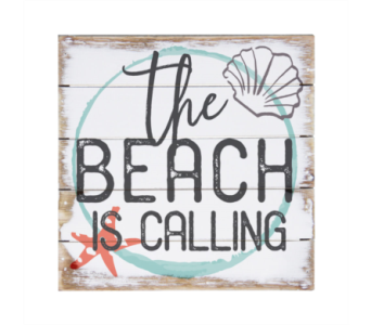 Beach is Calling Sign in Virginia Beach VA, Fairfield Flowers