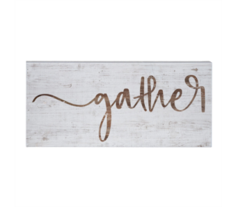 Gather Sign in Virginia Beach VA, Fairfield Flowers