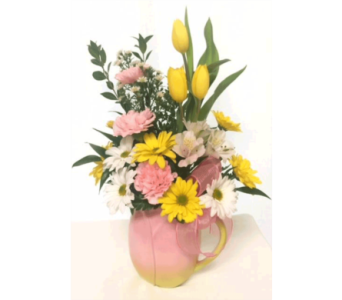 Spring Tulip Pitcher in Titusville FL, Floral Creations By Dawn