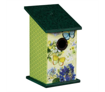 Butterfly Haven Birdhouse in Virginia Beach VA, Fairfield Flowers