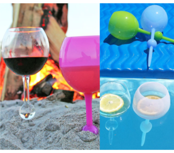 Beach Wine Glasses in Virginia Beach VA, Fairfield Flowers