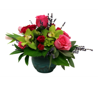 Turquoise Treasure in Detroit and St. Clair Shores MI, Conner Park Florist