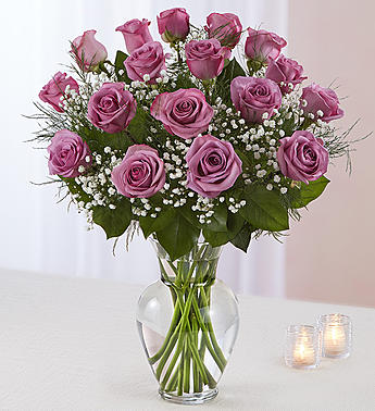 Rose Elegance Premium Long Stem Lavender Roses in Round Rock TX, Heart & Home Flowers