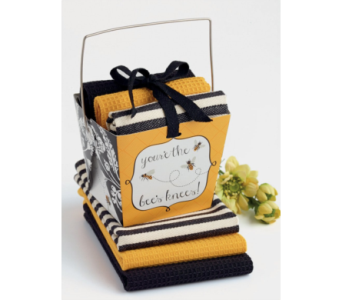 Bees Knees Take Out Gift Set in Pascagoula MS, Pugh's Floral Shop, Inc.
