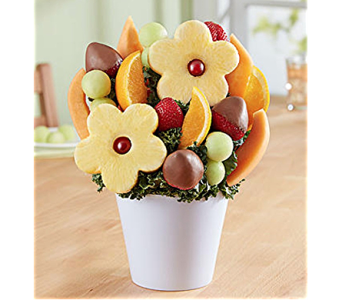 Delightful Daisy Treat in Mount Morris MI, June's Floral Company & Fruit Bouquets