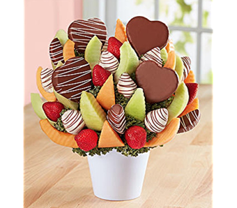 You�ve got my heart in Mount Morris MI, June's Floral Company & Fruit Bouquets