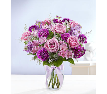 Shades of Purple-M in Palm Desert CA, Milan's Flowers & Gifts