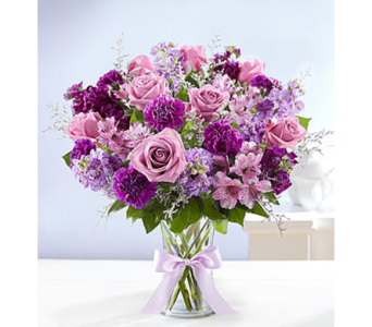 Shades of Purple-LG in Palm Desert CA, Milan's Flowers & Gifts