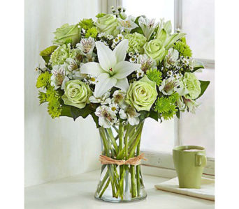 Serene Green-LG in Palm Desert CA, Milan's Flowers & Gifts