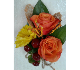 Fall Boutonniere in Gaithersburg MD, Flowers World Wide Floral Designs Magellans