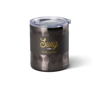 Swig Luxe 12 oz Lowball Onyx in Pascagoula MS, Pugh's Floral Shop, Inc.