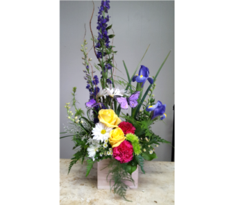 Spring Beauty Bouquet in Adrian MI, Flowers & Such, Inc.