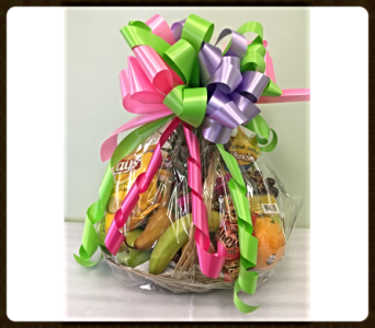 Gourmet Fruit and Treat Basket in Sydney NS, Lotherington's Flowers & Gifts