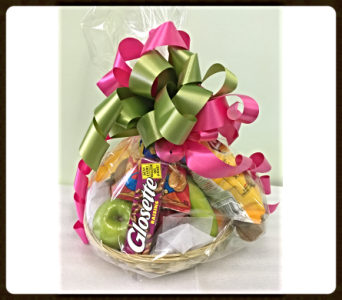 Fruit and Treat Basket in Sydney NS, Lotherington's Flowers & Gifts