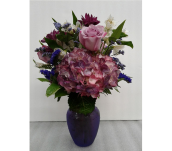 Passionate in Purple in Gaithersburg MD, Mason's Flowers