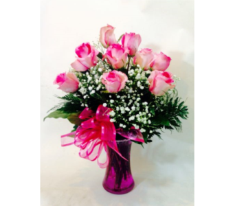 PINK ROSES in Nashville TN, Emma's Flowers & Gifts, Inc.