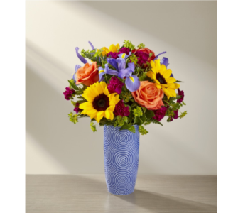 The FTD� Touch of Spring� Bouquet - Deluxe in Chapel Hill NC, Floral Expressions and Gifts