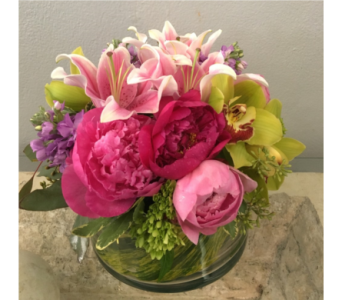 Playful Peonies in Gaithersburg MD, Mason's Flowers