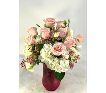 Pink Elegance in Naples FL, Gene's 5th Ave Florist