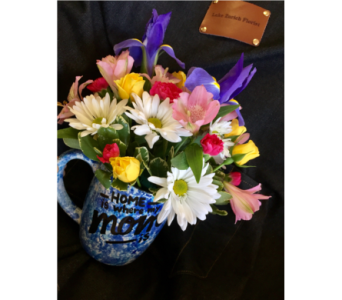Blue Mug in Lake Zurich IL, Lake Zurich Florist
