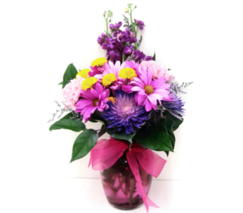 FF31-7a  Color me Yours Bouquet in Oklahoma City OK, Array of Flowers & Gifts