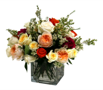 English Garden Rose Bouquet  in Detroit and St. Clair Shores MI, Conner Park Florist