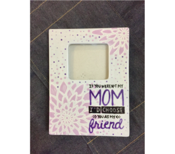 Hand painted Photo Frame in Lake Zurich IL, Lake Zurich Florist
