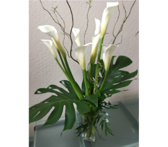 Elegant Callas in Palo Alto CA, Village Flower Shoppe