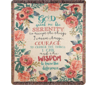 Serenity Prayer in Amelia OH, Amelia Florist Wine & Gift Shop