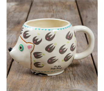 Hedgehog Mug in Muskegon MI, Wasserman's Flower Shop