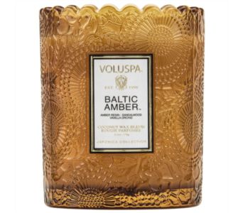 Voluspa Baltic Amber Candle in Little Rock AR, Tipton & Hurst, Inc.