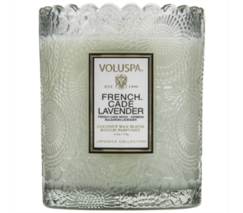 Voluspa French Cade Lavender in Little Rock AR, Tipton & Hurst, Inc.